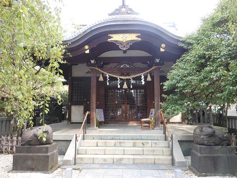 北野神社「牛天神」の拝殿 - ぶっちゃけ古事記