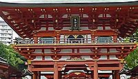生田神社 兵庫県神戸市中央区下山手通のキャプチャー