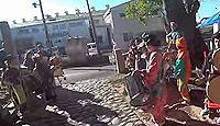 敬満神社 - 一帯に分布する渡来系氏族の秦氏の氏神である敬満神を祀る名神大社の古社