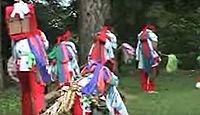重要無形民俗文化財「西祖谷の神代踊」 - 徳島県の大掛かりな風流の一種、太鼓踊のキャプチャー