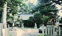 氷鉋斗賣神社 長野県長野市稲里町下氷鉋