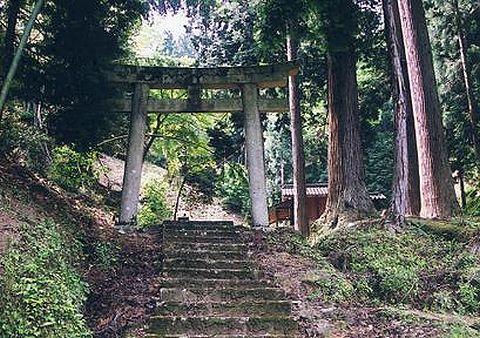 鏡神社 兵庫県豊岡市三原のキャプチャー