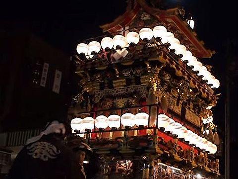 岐阜県の重要無形民俗文化財のキャプチャー