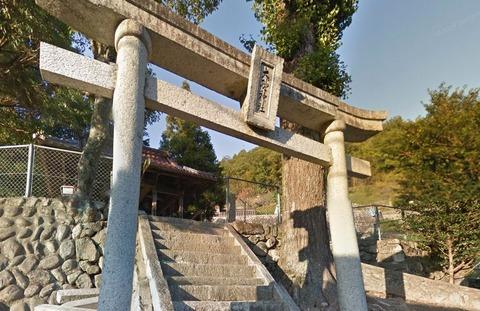 大野神社 広島県広島市安佐北区可部町勝木のキャプチャー