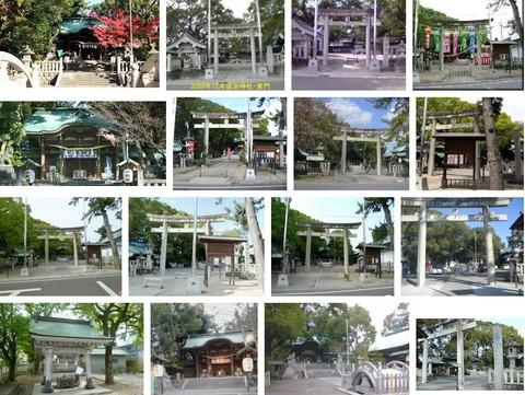 堤治神社 愛知県一宮市小信中島宮浦のキャプチャー