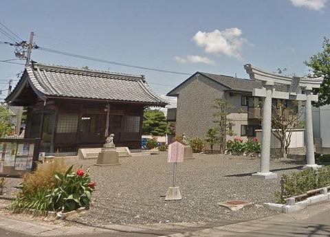 神明神社 福井県越前市三ツ口町のキャプチャー