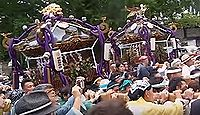 諏訪神社 神奈川県藤沢市大鋸