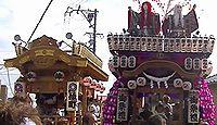 服織田神社 静岡県牧之原市静波のキャプチャー