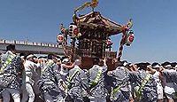 居神神社 - 北条早雲に敗れた三浦義意の首が飛来した地、5月例大祭は浜下りと居神流