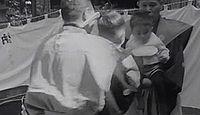 三熊野神社(花巻市) - 坂上田村麻呂が創建、成島毘沙門堂に隣接、幼児の泣き相撲神事