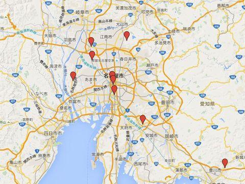 愛知県の別表神社のキャプチャー
