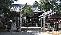 津峯神社 - 参道にリフトがある津峰山山頂に鎮座、開運延命・病気平瘉・海上安全の神