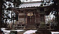 白山神社(栗原市金成小迫) - 坂上田村麻呂の創建と伝わる、「小迫の延年」が有名な古社