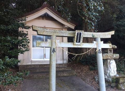 宇母理比古神社 徳島県徳島市八多町森時のキャプチャー