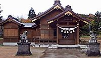 居多神社 新潟県上越市五智のキャプチャー