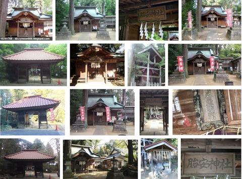 胎安神社 茨城県かすみがうら市西野寺のキャプチャー