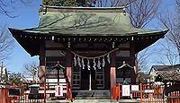 青渭神社 東京都稲城市東長沼