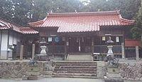 大和神社 岡山県加賀郡吉備中央町宮地