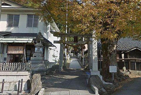 走落神社 滋賀県長浜市高月町馬上のキャプチャー
