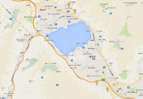 諏訪大社 長野県諏訪地方のキャプチャー
