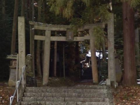 八幡神社 岡山県真庭市古見のキャプチャー