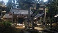 国庁裏神社 - 裏は「うら」ではなく「うち」、国庁内に祀られた国史見在社の伯耆国総社