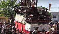 重要無形民俗文化財「大垣祭の軕行事」 - 大垣八幡神社の例祭に行われる山車行事のキャプチャー