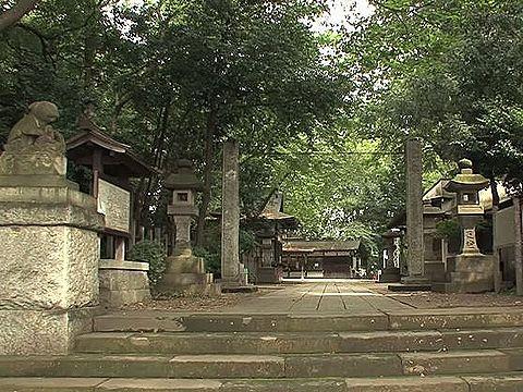 ヤマトヒメ来訪の伝承を伝える、埼玉県さいたま市浦和の調神社