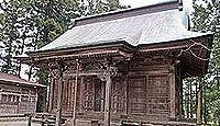 住吉神社(角田市) - 郡山遺跡、平安期の祭祀址、鎌倉期に摂津を勧請した住吉山医王寺