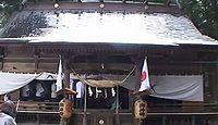 白和瀬神社 福島県福島市大笹生のキャプチャー