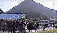 重要無形民俗文化財「三上のずいき祭」 - 滋賀県野洲市、御上神社の収穫感謝の祭りのキャプチャー