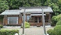 比地神社 三重県伊賀市比土