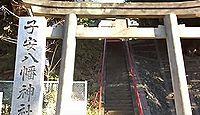 子安八幡神社 東京都大田区仲池上のキャプチャー