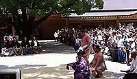 熱田神宮で横綱白鵬が奉納土俵入りを披露 - 2011年7月2日、愛知県名古屋市のキャプチャー