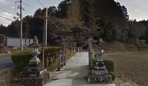 大野神社 岡山県美作市川上のキャプチャー