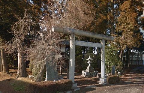 稲乃比売神社 埼玉県大里郡寄居町鉢形のキャプチャー