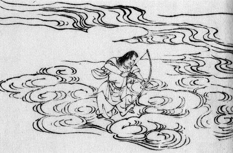 返し矢を射る高御産巣日神 - 吉田邦博、不二龍彦『決定版 古事記と古代天皇』