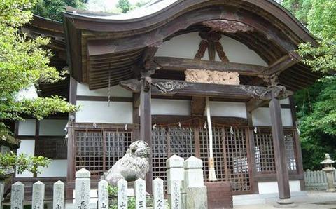 粒坐天照神社 兵庫県たつの市龍野町日山のキャプチャー