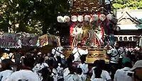 鶴谷八幡宮 - 安房国総社、鎌倉期に八幡信仰へ、現在も「やわたんまち」に総社の面影
