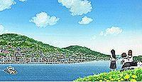 御袖天満宮 - 生前の道真公ゆかり、映画・アニメの聖地でもある、55段の石段ある神社