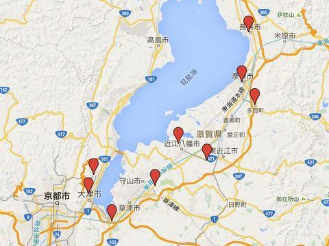 滋賀県の別表神社