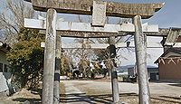 八幡神社 徳島県阿波市市場町香美八幡本