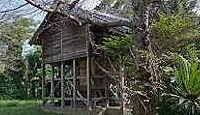 田笛神社 - 八幡大神が豊前と豊後の国境で田笛を吹いた地、行幸会で供された「田飯」