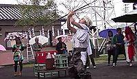 南方神社(指宿市) - 山川郷成川村の惣鎮守「諏訪大明神」、10月例祭に古式の成川神舞