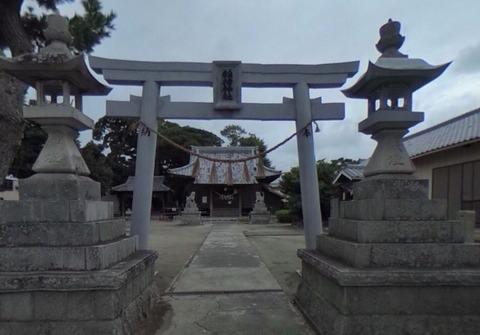稲荷神社 静岡県浜松市南区飯田町のキャプチャー