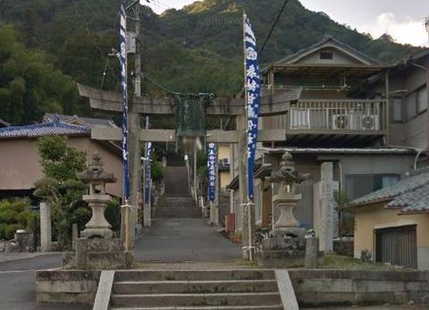 甘南備神社 広島県府中市出口町のキャプチャー