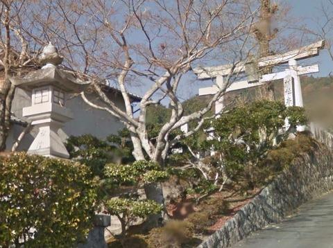 春日神社 三重県伊賀市西山のキャプチャー