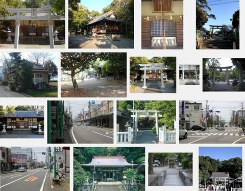 田中神社 静岡県藤枝市花倉のキャプチャー