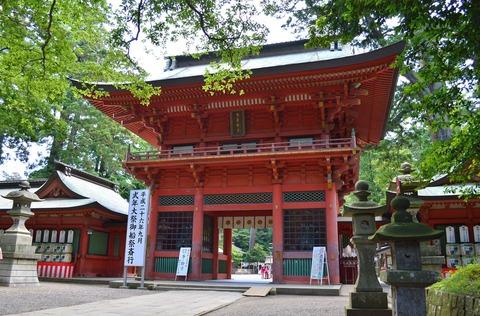 国の重要文化財 鹿島神宮の楼門 - Wikipedia