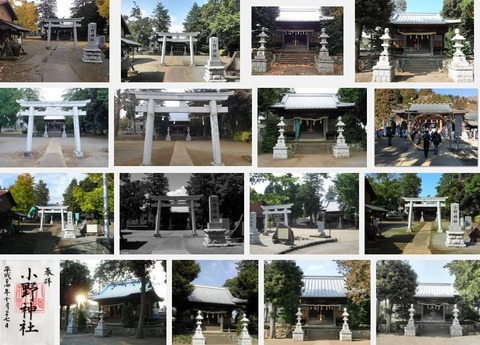 小野神社 神奈川県厚木市小野のキャプチャー